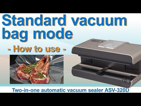 Standard vacuum bag mode