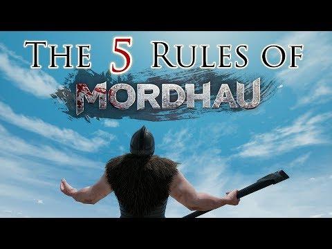 THE 5 RULES OF MORDHAU! - Mordhau Beginners Guide