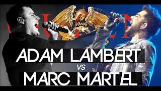 Adam Lambert Vs Marc Martel   Show Must Go On