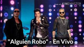 Sebastián Yatra - Alguien Robo (En Vivo) Ft Nacho Y Wisin 2017