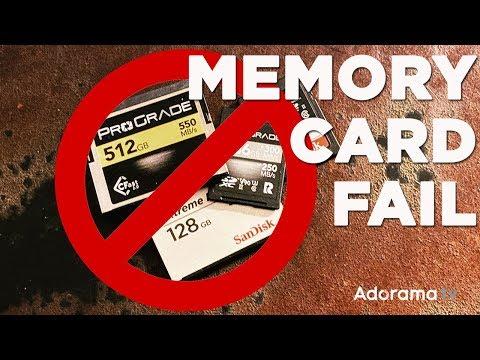 Prevent Memory Card Failure: Ask David Bergman