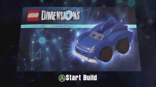 LEGO Dimensions Sonic Speedster Building Instructions (Sonic The Hedgehog Vehicle)