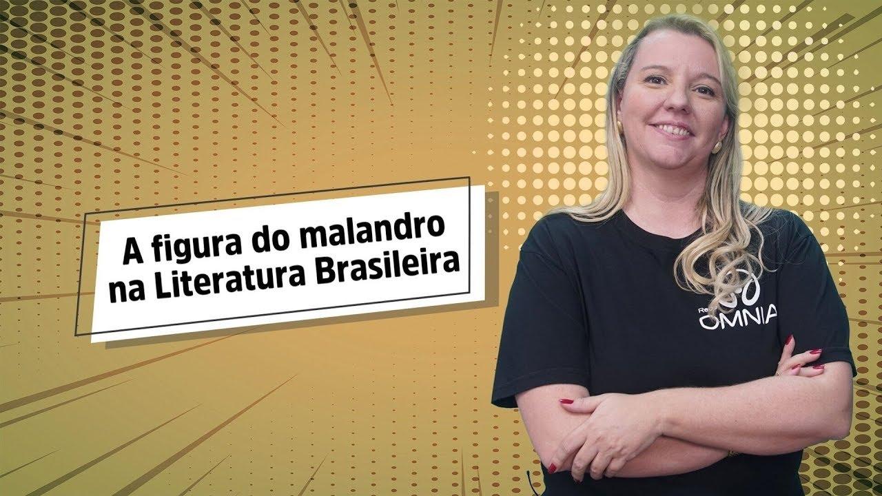 A figura do malandro na Literatura Brasileira