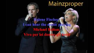 Vivo Per Lei (Lyrics) Michael Bolton Helene Fischer English