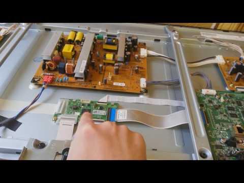 Плазменный телевизор LG извращенский ремонт
