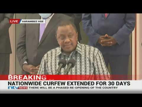 President Uhuru Kenyatta speech on coronavirus, phased re-opening || FULL SPEECH
