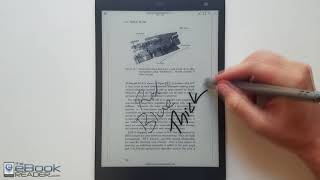 Sony DPT-CP1 10.3 Full Review - Sony Digital Paper