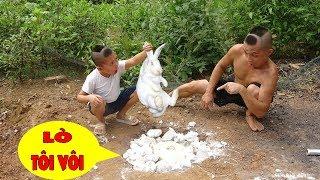 Cười Há Mồm Với Món Thỏ Ngọc Luyện Đan Của Anh Em Tam Mao - Lấy Vôi Ra Tôi Để Nấu Thỏ