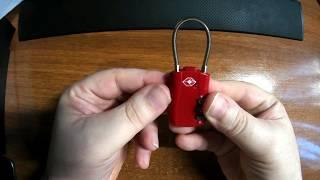 Μικρό λουκέτο - Μεγάλη ασφάλεια // KCASA KC-JC168 3 digits locks - UNBOXING (by Banggood)