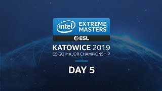 IEM Katowice - CS:GO Major - Challenger Stage - Day 5
