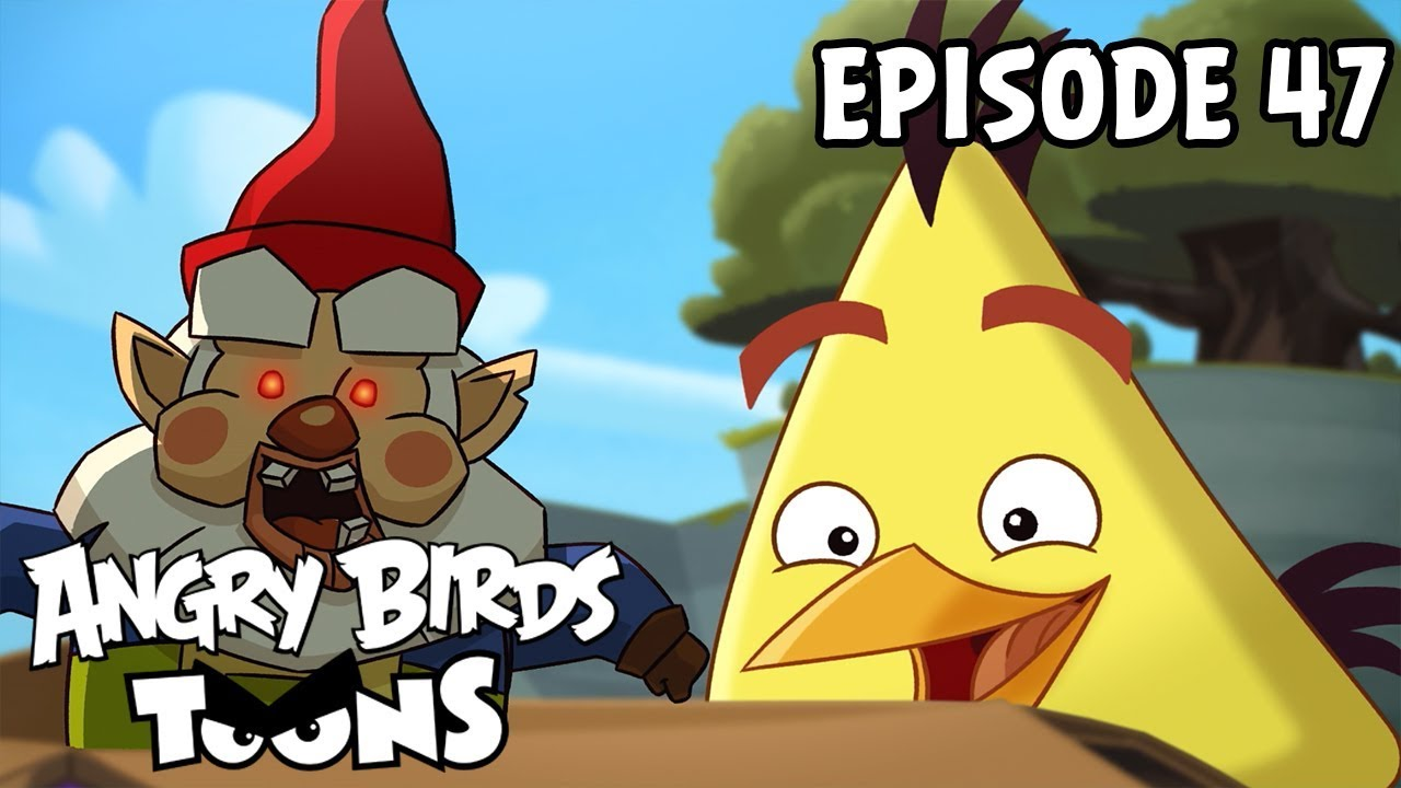 Angry Birds Toons | Oh Gnome! - S1 Ep47 - YouTube