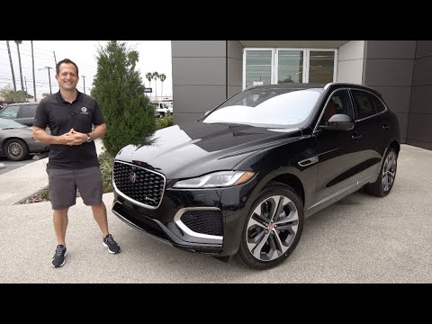 Is the NEW 2021 Jaguar F-Pace P400 a BETTER performance SUV to buy?