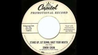Ferlin Husky as Simon Crum - Stand Up, Sit Down, Shut Your Mouth