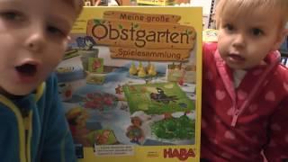 Meine große Obstgarten - Spielesammlung (Haba) - ab 3 Jahre - Kinderspiel - Gameplay TEIL 121