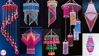 10 Amazing Wall Hanging Craft || DIY Wind Chime Making || Handmade Home Decorating Ideas