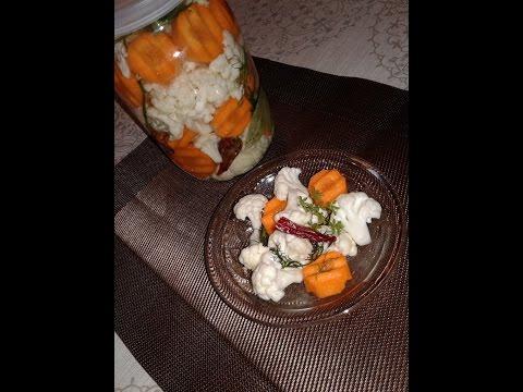 Засолка Цветной Капусты ✧ грузинская кухня