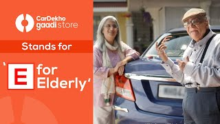 CarDekho Gaadi Store stands for 'E for Elderly' in the newest film!