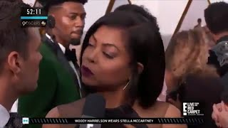 Taraji P. Henson SHADING Ryan Seacrest Right To His Face Is Legendary   2018 Oscars - Video Youtube