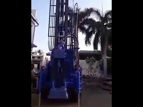 Tractor Mounted Deep Well Drilling Rig