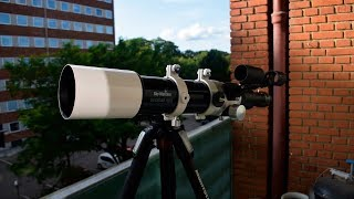 Unboxing and first impressions of the Skywatcher Evostar 72ED DS-Pro