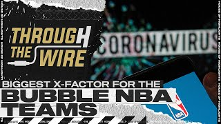 The Biggest X-Factor For The Bubble NBA Teams | Through The Wire Podcast