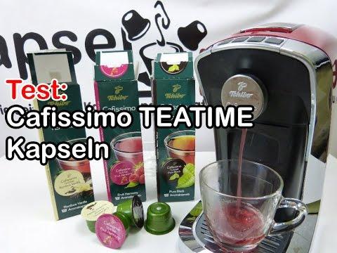 Cafissimo TEATIME Kapseln im Test (Teekapseln, Zubereitung eines Tee)