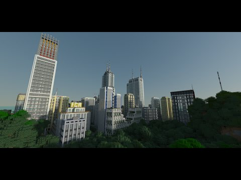 West Egg City Modern City Download Minecraft Project