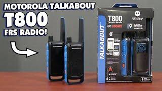 Motorola Talkabout T800 FRS Two Way Radio