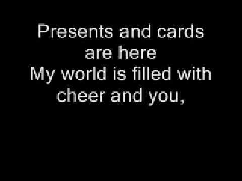 This Christmas Chris Brown With Lyrics