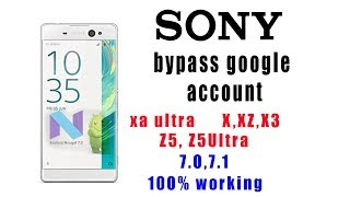 REMOVE GOOGLE ACCOUNT ON ALL SONY XPERIA BYPASS FRP - Самые