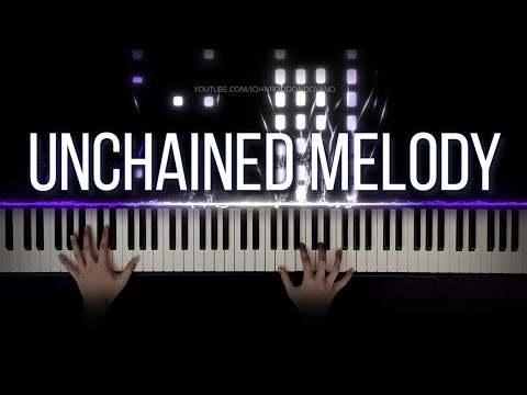 The Righteous Brothers - Unchained Melody | Piano Cover with Violins (with Lyrics & PIANO SHEET)