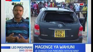 Chanzo cha magenge ya wahuni jiji la Mombasa ni nini?