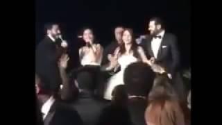 فضيحة شيرين عبدالوهاب سكرانه و بتشتم الهضبه عمرو دياب ف فرح عمرو يوسف
