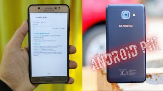 Samsung latest android pie update list J7 pro, j7 nxt, j7 max, j7