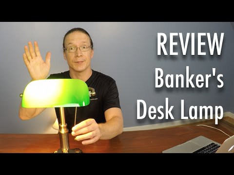 Review: V-Light Banker's Style Desk Lamp