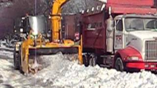 preview picture of video 'Montreal Snow Removal'
