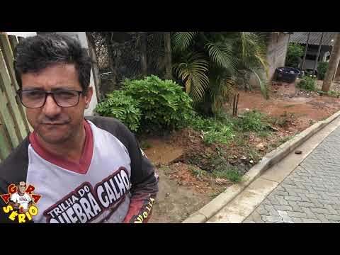 Vereador Chiquinho vai pra cima da Sabesp no caso do esgoto da Rua Justino Mendes de Oliveira na Favela do Justinos