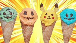 POKEMON ICE CREAM CONES ft Kurt Hugo Schneider - NERDY NUMMIES