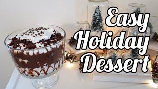 Super Easy Holiday Dessert