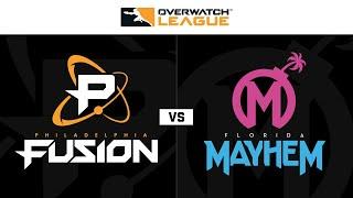 Semi-Final B   Philadelphia Fusion vs Florida Mayhem   May Melee NA   Day 3