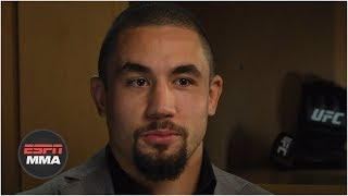 Robert Whittaker talks magnitude of Israel Adesanya fight, health after surgery [FULL] | ESPN MMA