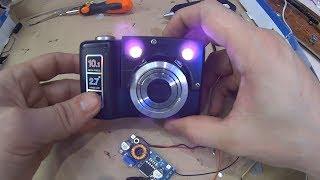 Самодельный Прибор Ночного видения из Старого Фотоаппарата. ПНВ. своими руками