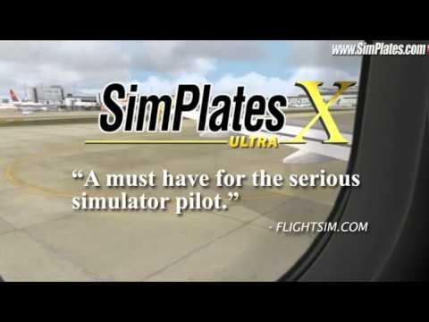 Video of SimPlates for Flight Simulator