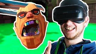 КОГТИ РОСОМАХИ ПРОТИВ ВСЕХ БОССОВ - Gorn VR - Windows Mixed Reality