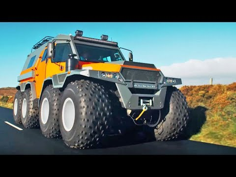The HUGE Avtoros Shaman 8×8 | Top Gear Series 24 | BBC