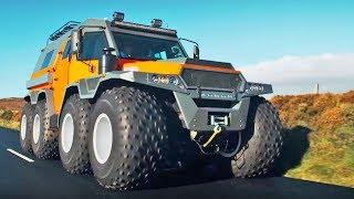 The HUGE Avtoros Shaman 8x8 | Top Gear Series 24 | BBC