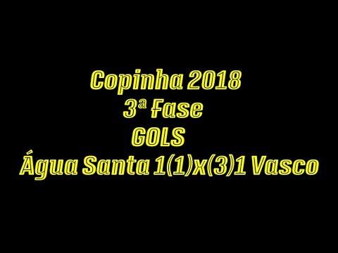 Gols de Água Santa 1(1)x(3)1 Vasco - 3ªFase Copinha 2018