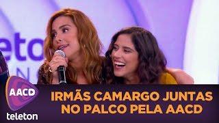 Wanessa E Camilla Camargo Se Emocionam No Palco | Teleton 2017