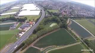 Waalwijk oost vanuit de lucht