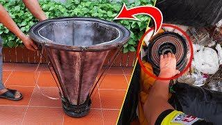 recycle-broken-speaker-from-landfill-into-giant-speaker